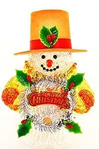 Merry Christmas Snow Man nightlights, Night Light ,Night Lamp ,Decotations Night Lights By C&H