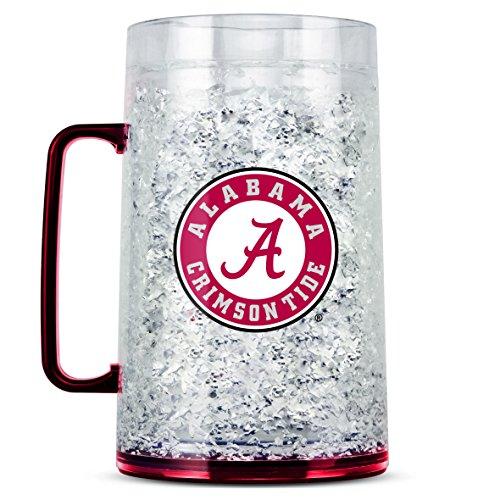 Ncaa Crystal Mug - Duck House NCAA Alabama Crimson Tide 38oz Crystal Freezer Monster Mug