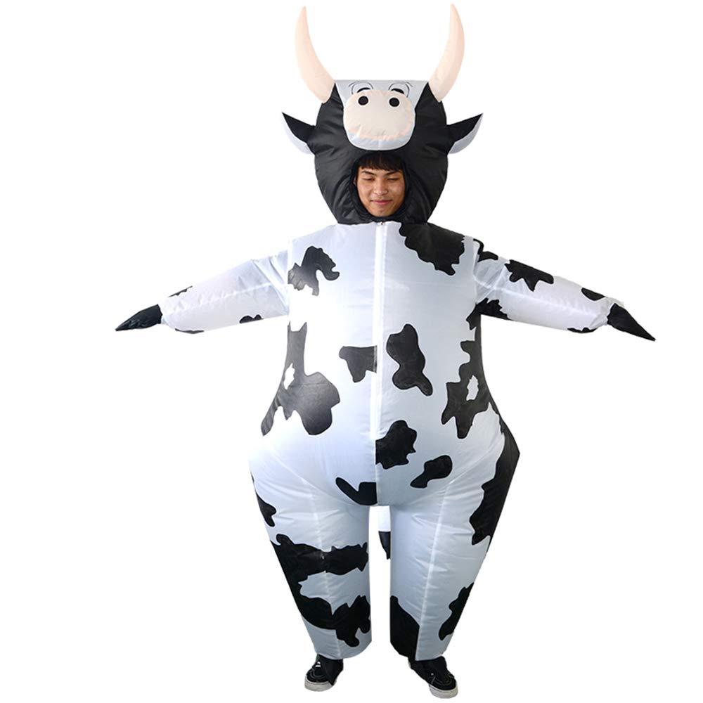 Disfraz de Vaca Inflable, halloween, carnaval
