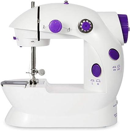 TIKTOK Mini máquina de coser con mesa de extensión portátil freno ...