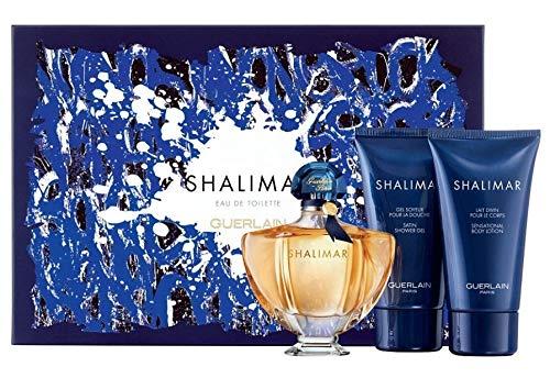 Guerlain Shalimar Eau de Toilette 3-Piece Fragrance Set for Women