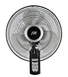 """SPT SF-16W81 16"""" Wall Mount Fan with Remote Control"""