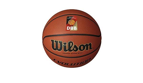 Wilson Evolution Dbb Official Balón para Basketball, Unisex Adulto ...