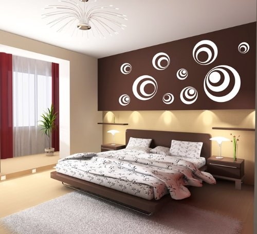 Wandtattoo Kreise Nr.106 Wandaufkleber Wandmotiv (Siehe Beschreibung):  Amazon.de: Küche U0026 Haushalt