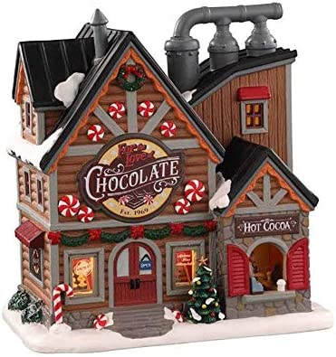 Lemax Village Collection for The Love of Chocolate Shop 05621