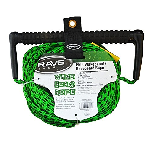 RAVE 3-Section Wakeboard/Kneeboard Rope(70-feet)