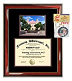 Texas State University Diploma Frame TSU San Marcos Southwest Graduation Degree College Certificate Double Matting Plaque Framing Gift