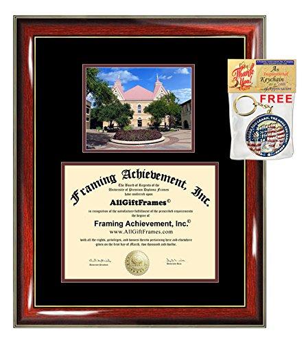 Texas State University Diploma Frame TSU San Marcos Southwest Graduation Degree College Certificate Double Matting Plaque Framing (Southwest Gift Certificates)