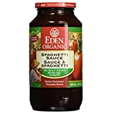 Eden Foods Organic Tomato Products-Spaghetti Sauce, No Salt, 680ml