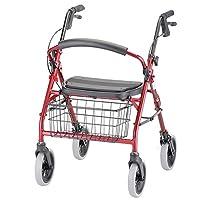 Andador con ruedas NOVA Cruiser Deluxe, rojo