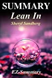img - for Summary - Lean In: By Sheryl Sandberg - Women, Work and the Will to Lead (Lean In: A Full Summary - Book, Paperback, Hardcover, Audiobok, Audible Book 1) book / textbook / text book