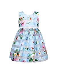 Richie House Girls' Princess Party Bridal Dress with Belt Size 3-8Y RH2614