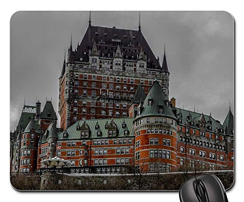 (Mouse Pad - Quebec Castle Frontenac Building Canada Quebec)