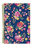 "bloom daily planners 2018 Calendar Year Daily Planner - Passion/Goal Organizer - Monthly and Weekly Datebook and Calendar - January 2018 - December 2018 - 6"" x 8.25"" - Vintage Floral"