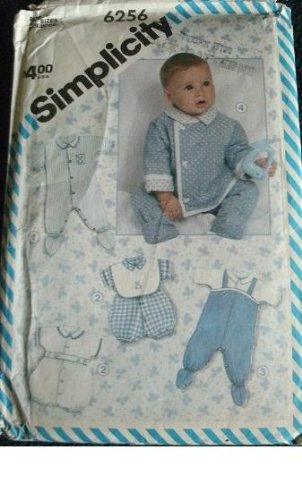 BABIES LAYETTE - 22 PIECES SIMPLICITY SEWING PATTERN 6256 ()