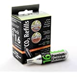 16g Threaded CO2 Cartridges 6-Pack Mole-Zap/Ant Zap Refills