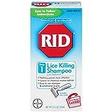 RID Lice Killing Shampoo, Maximum Strength, Step 1, 2-Fluid Ounce