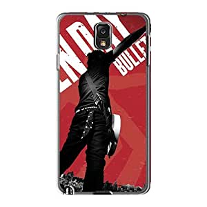 Best Hard Phone Case For Samsung Galaxy Note3 (Qos3184ivOE) Support Personal Customs Stylish Green Day Series