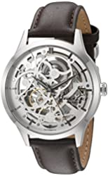 Kenneth Cole New York Men's 10026284 Automatic Analog Display Japanese Automatic Brown Watch