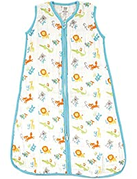 Baby Girls' Soft Muslin Or Jersey Safe Wearable Sleeping Bag
