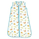 #2: Luvable Friends Baby Soft Muslin Or Jersey Safe Wearable Sleeping Bag