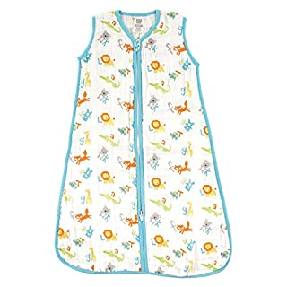 Luvable Friends Unisex Baby Sleeveless Jersey Cotton Sleeping Bag/ Sack/ Blanket