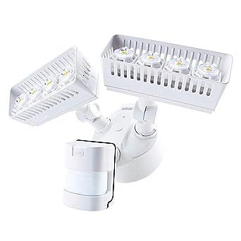 Sansi Foco LED con Sensor de Movimiento 30w 3400lm 5000K Iluminación de Seguridad con PIR Detector