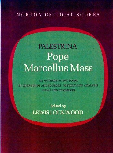 Pope Marcellus Mass (Norton Critical Score)