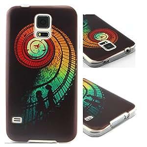 Galaxy S5 Case,Samsung Galaxy S5 Case,Samsung Galaxy S5 Cases,Galaxy S5 Cases,S5 Case,Creativecase Beautiful Priented TPU Soft silica gel Design Galaxy S5 Case Cover for Samsung Galaxy S5 I9600-G4