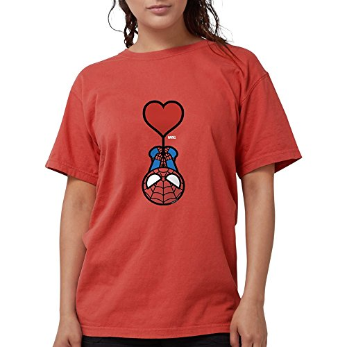 CafePress - Spider-Man Heart - Womens Comfort Colors Shirt