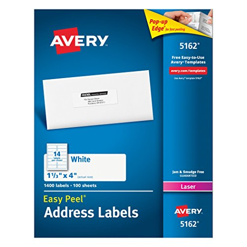 Avery Mailing Labels Printers 05162
