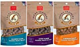 Cloud Star Chewy Tricky Trainers Flavored Dog Treats Variety Bundle – 5 oz bags (1) Cheddar Flavor (1) Liver Flavor (1) Salmon Flavor – (3 Pack)