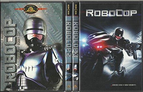 ROBOCOP COLLECTION DVD SET ALL 4 MOVIES ROBOCOP ORIGINAL ROBOCOP REMAKE ROBOCOP 2 ROBOCOP 3 PETER WELLER MICHAEL KEATON NANCY ALLEN KURTWOOD SMITH
