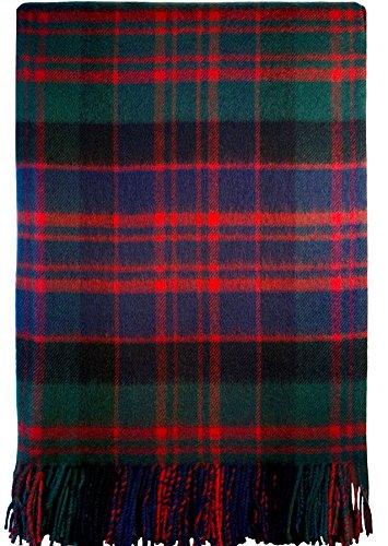 Macdonald Clan Modern Tartan Lambswool - Tartan Modern Clan
