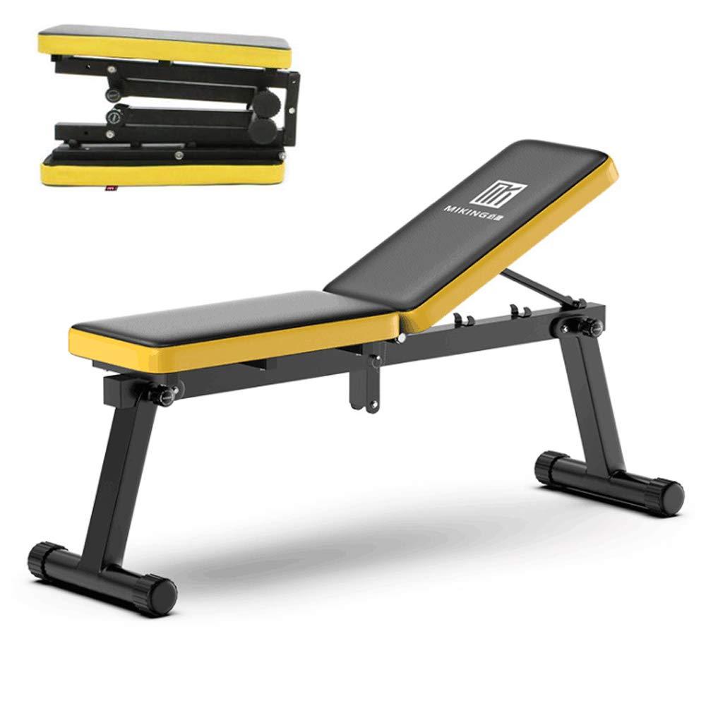 HONEI インクラインベンチ フラットベンチ トレーニングベンチ ダンベル用トレーニングベンチ 組立不要 折りたたみ式 腹筋ベンチ ダンベル腹筋台 腹筋マシン マルチジム トレーニングマシン B07JMMPV3R