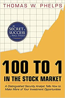100 To 1 In The Stock Market: A Distinguished Security Analyst Tells How To Make More Of Your Investment Opportunities Descargar Epub