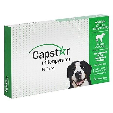 Amazon.com: Novartis Capstar Verde para perros de más ...