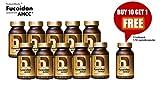 Cheap NatureMedic Fucoidan AHCC Brown Seaweed Immunity Supplement with Organic Mekabu Mozuku Agaricus 11 Bottles/Pack 1,760 Vegetable Capsules Made in Japan