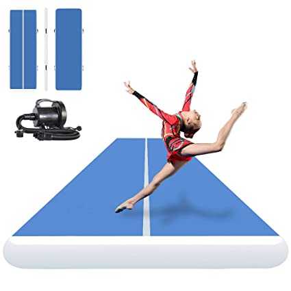 3bdaaee921bf Amazon.com : ibigbean Inflatable Gymnastics Tumbling Air Tracker ...