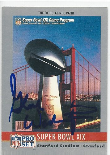 (1990, Gene Washington, San Francisco 49ers, Signed, Autographed, Pro Set Football Card, Card # 19, a COA Will Be Included)