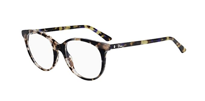 e8e1ccb49509 Image Unavailable. Image not available for. Colour  Authentic Christian Dior  Montaigne 16 02A0 Pink Havana Bl Eye Wear Eye Glasses