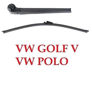 Golf V 5 Polo 9N Aero Disco de limpiaparabrisas trasero Set Aero: Amazon.es: Coche y moto