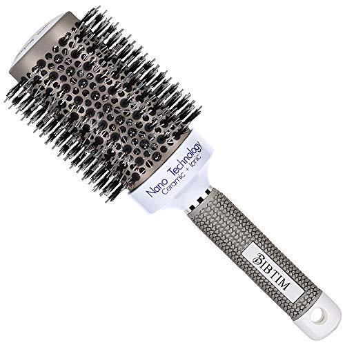 metal barrel hair brush - 2