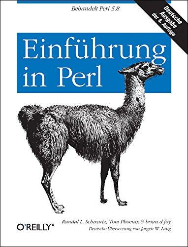 Einführung in Perl Taschenbuch – 1. September 2005 Randal L. Schwartz Tom Phoenix brian d foy Einführung in Perl