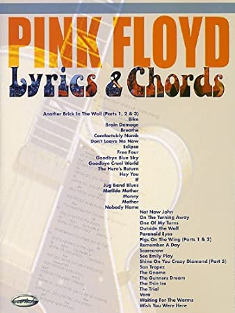 Pink Floyd Lyrics And Chords Sheet Music For Lyrics Chords