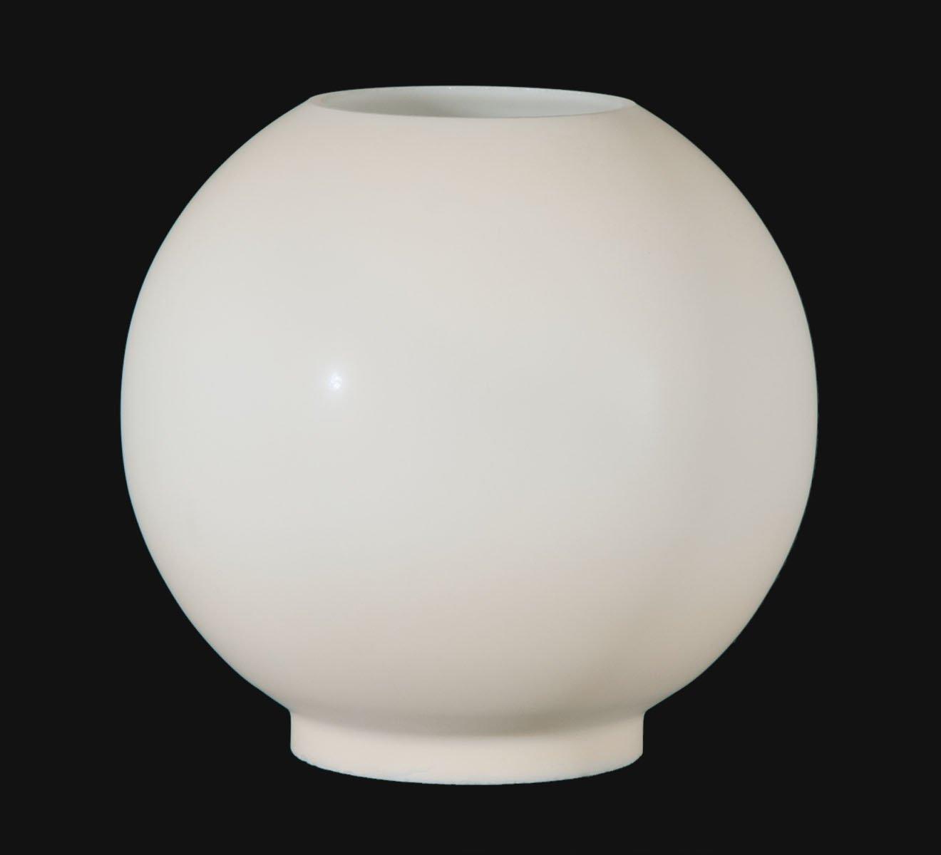 B&P Lamp Opal Glass Ball Shade, Cream Tint