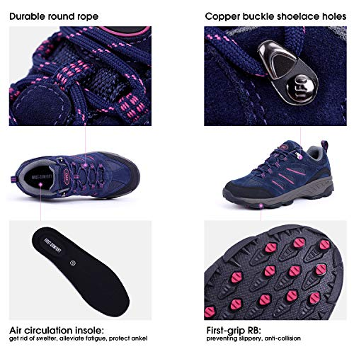 TFO Women's Air Cushion Hiking Shoe Breathable Running Outdoor Sports Trail Trekking Sneaker 5
