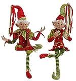 Raz 30'' POSABLE ELF elves (Set of 2) 3202682