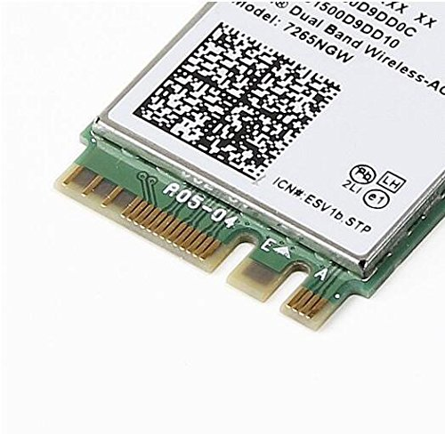 Amazon.com: Dual Band Wireless-AC 7265 NGFF M2 Use For Intel AC 7265NGW 802.11ac 2x2 Wi-Fi + Bluetooth 4.0: Computers & Accessories