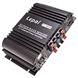Lepai Lp-168ha 2.1 2 X 40 - Watt Amplifier and 1x68w Sub Output with US Power Adapter by LEPAI